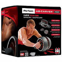 Ролик колесо тренажер для пресса Perfect AB Carver Pro, фото 1