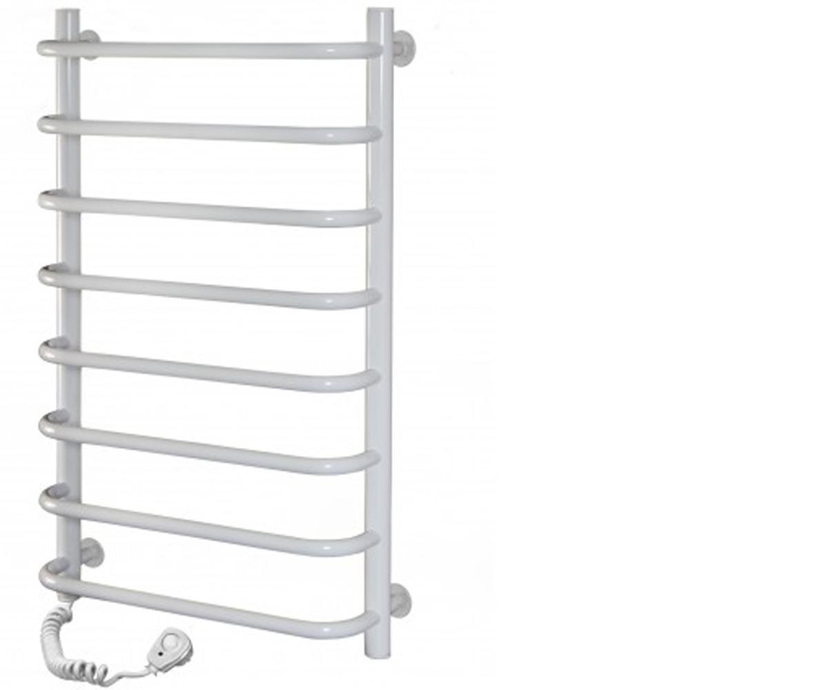 Полотенцесушитель электрический SANTAN Лестница Симфония 480х800 белый, левосторонний