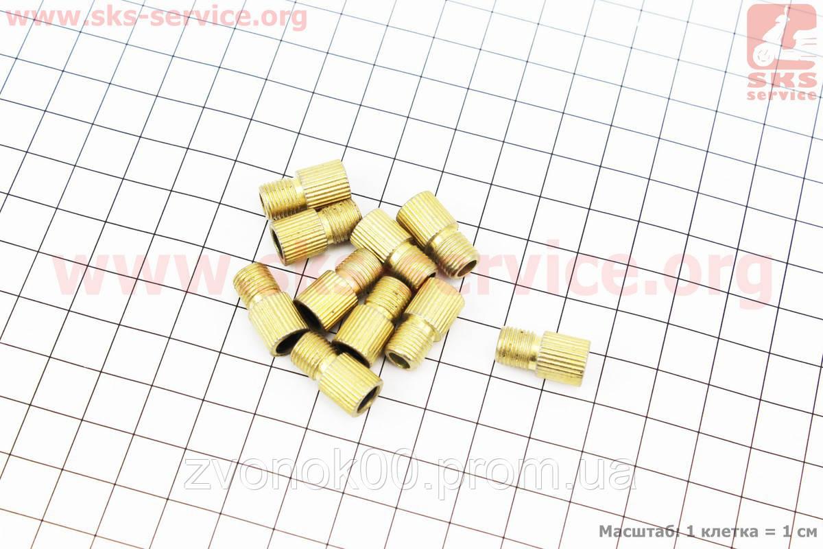 Переходник шланга насоса с резинкой (золотник-нипель) 10шт. к-кт