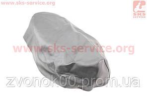 Чехол сидения Honda LEAD AF20 (эластичный, прочный материал) черный