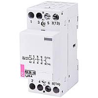 Модульный контактор ETI RA 25-40 25А 4NO 230V 2464094