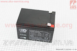 Аккумулятор OT10-12 - 12V10Ah (L150*W95*H95,mm) для ИБП, игрушек и др., 2018