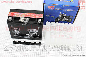 Аккумулятор 18Аh UTX 20L-BS (кислотный, сухой) 175/85/150мм, 2018
