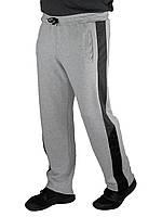 """Спортивные брюки прямые мужские """"Трио"""" (серый меланж), фото 1"""