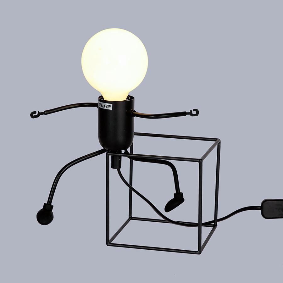 Настольная лампа с человечком