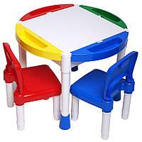 Детский столик для игры Конструктор Игровой центр