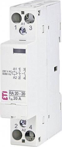 Модульный контактор ETI RD 20-11 20А 1NO + 1NC AC/DC 230V 2464006, фото 2