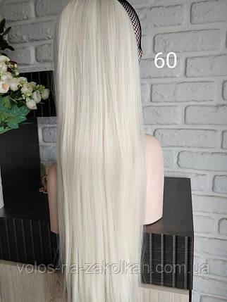 Хвост накладной на ленте цвет №60 белый, фото 2
