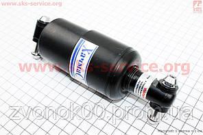 Амортизатор задний закрытый АМТ 150мм регулируемый, черный