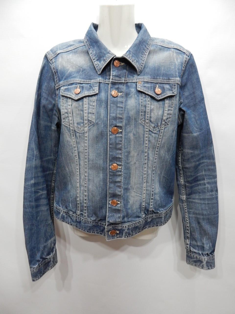 Куртка джинсовая женская H&M Vintage, RUS р.46-48, EUR 38 056DG