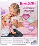 РУССКОЯЗЫЧНАЯ Интерактивная кукла Spin Master Luvabella / Лувабелла Blonde Hair Interactive Baby Doll, фото 2