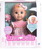 РУССКОЯЗЫЧНАЯ Интерактивная кукла Spin Master Luvabella / Лувабелла Blonde Hair Interactive Baby Doll, фото 3