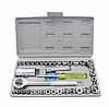 Набор торцевых головок с трещоткой AIWA 40 Pcs Combination Socket Set в пластиковом кейсе