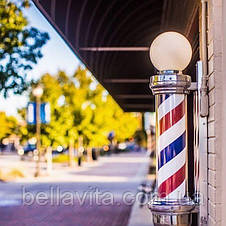 Barber Pole с лампой (барберпол  85см), фото 3