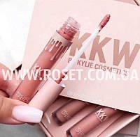 Набор матовых помад - KKW by Kylie Cosmetics, фото 1