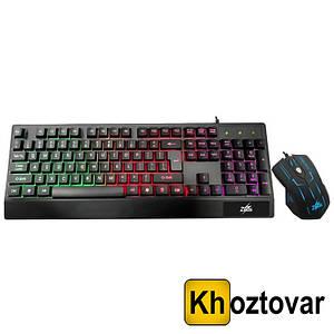 Комплект клавіатура LED Gaming Keyboard | Mouse M-710