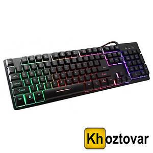 Провідна ігрова клавіатура з підсвічуванням ZYG 800