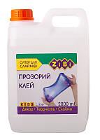 Клей ПВА ZiBi 2000мл прозрачный (ZB.6142-00)