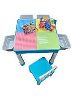 Детский столик для лего Конструктор Игровой центр