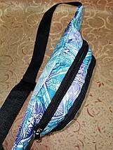 Молодежная поясная сумка из текстиля BR-S с этническим принтом 1213656518, фото 2