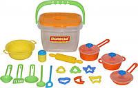 Набор детской посуды Полесье, 20 элементов, 56627