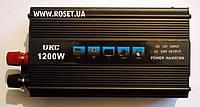 Преобразователь электроэнергии (инвертор) ― UKC Inverter I-Power SSK 1200W
