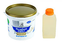 Жидкий акрил наливной Plastall (Пластол) Premium для реставрации ванны 1.7 м (3,3 кг) Оригинал