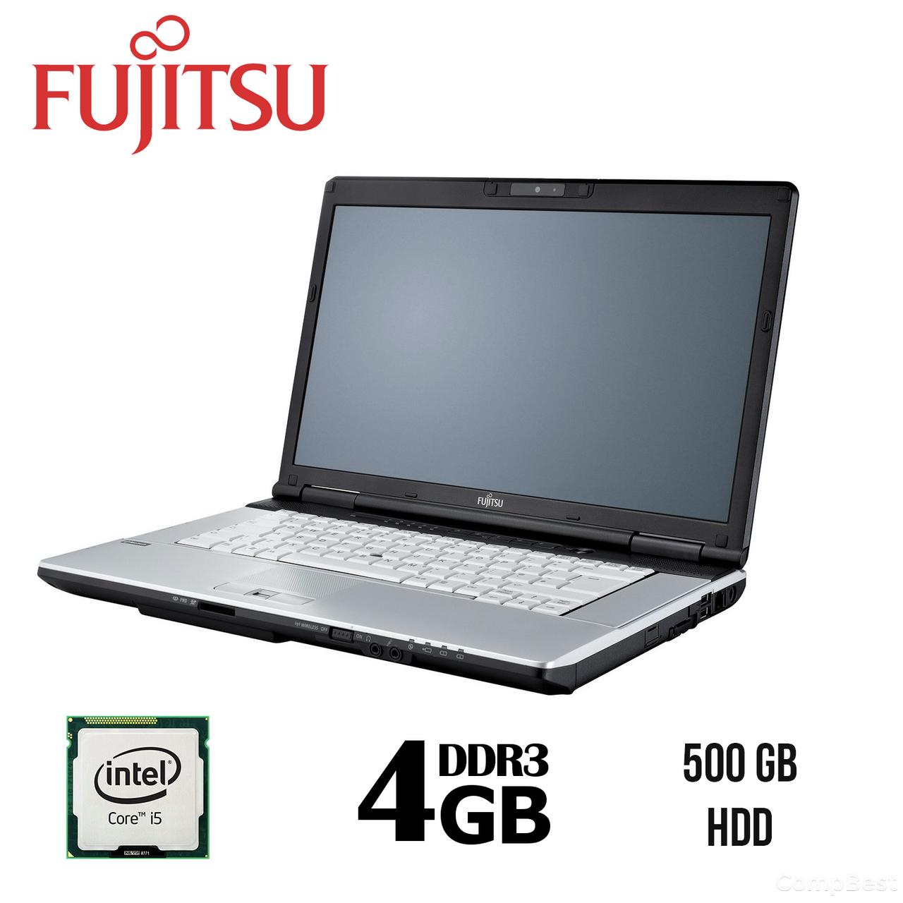 Fujitsu-Siemens Lifebook E751 / 15,6'' / Intel® Core™ i5-2520M (2(4) ядра по 2.5 - 3.2 GHz) / 4 ГБ DDR3 / HDD 500 ГБ / Intel HD Graphics 3000 /