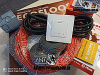 Тонкий кабель Fenix ADSV181700 ( 10 м2 )  с сенсорным терморегулятором Terneo S (Полный комплект)