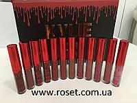 Набор стойких матовых помад - Kylie Matte Liquid Lipstick (12 шт), фото 1