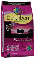 Беззерновой корм для собак EARTHBORN Holistic (Эрсборн Холистик) DOG Meadow Feast with Lamb Meal с мясом ягненка, 12 кг