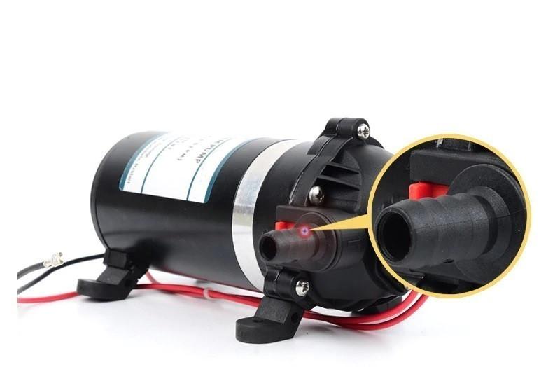 Мембранный насос помпа для воды DP-160 Jethro 5.5 л/мин 12 вольт самовсасывающий