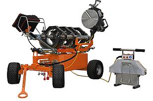 Гідравлічна машина для стикового зварювання RITMO DELTA 250 TRAILER