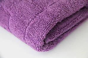 Полотенце махровое (50х90/500г) Terry Lux Сирень, фото 2
