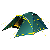 Палатка двухместная Tramp Stalker 2 зеленая, фото 1