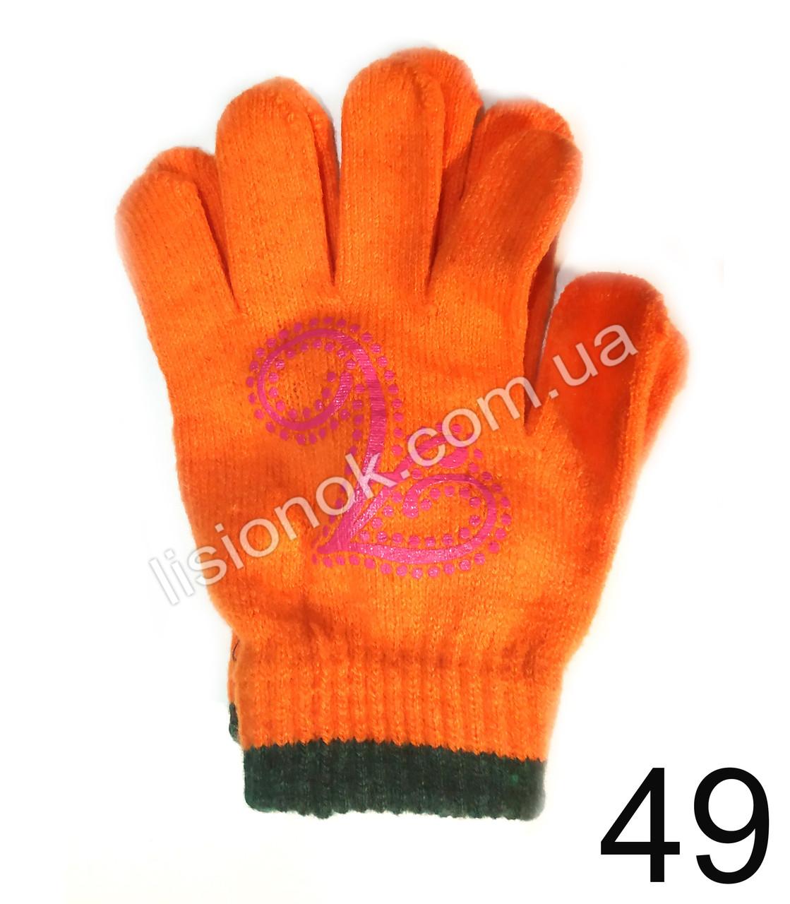 Демисезонные перчатки Принцесса Анастасия от Disney 3-6 лет