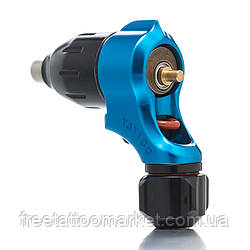 Тату машинка ротор-поворотник rotary tattoo machine (голубая)