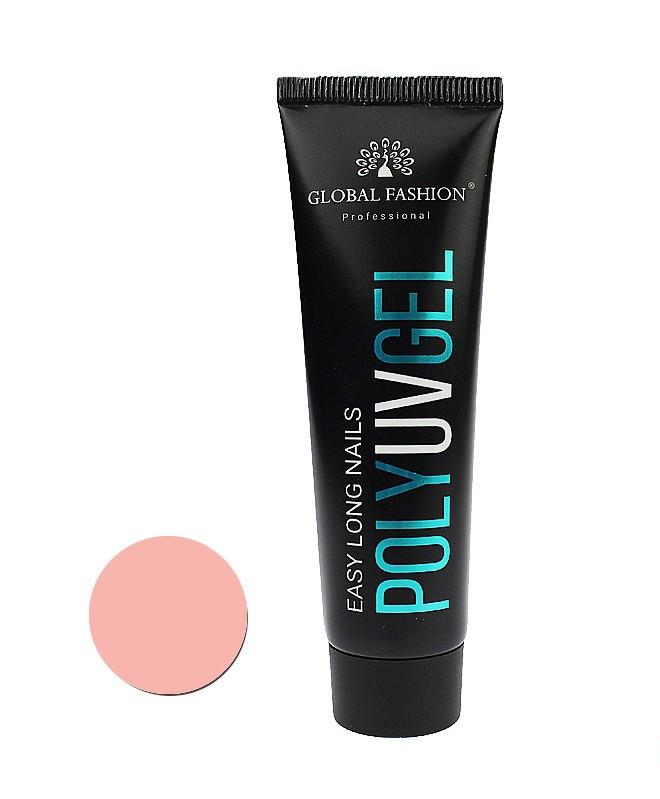 Полигель Global Fashion №01 камуфляж розовый