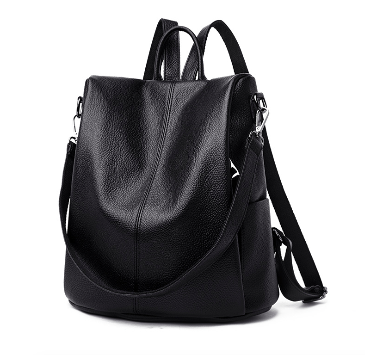 Рюкзак женский кожаный трансформер сумка Hefan Daishu Betty