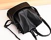 Рюкзак женский кожаный трансформер сумка Hefan Daishu Betty, фото 3
