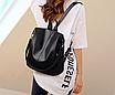 Рюкзак женский кожаный трансформер сумка Hefan Daishu Betty, фото 5