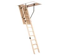 Чердачная лестница складная с крышкой люка OMAN PRIMA 120x60 деревянная