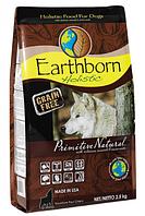 Беззерновой корм для собак EARTHBORN Holistic (Эрсборн Холистик) DOG Primitive Natural с курицей, 2,5 кг