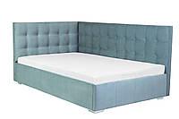 Двоспальне ліжко Наталі кутова з підйомним механізмом