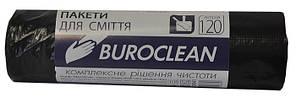 Пакети для сміття Buroclean 120л10шт чорні 10200041