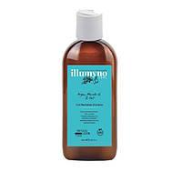 Шампунь для сухого і кучерявого волосся з маслом аргана і марули Design look Illumyno 250 мл