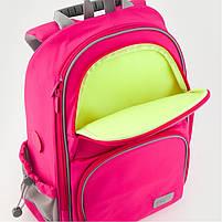 Рюкзак школьный ортопедический Kite Education K19-702M-1 Smart розовый, фото 4
