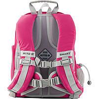 Рюкзак школьный ортопедический Kite Education K19-702M-1 Smart розовый, фото 7