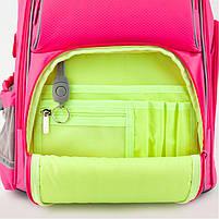 Рюкзак школьный ортопедический Kite Education K19-702M-1 Smart розовый, фото 9