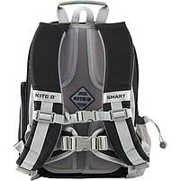 Рюкзак школьный ортопедический Kite Education K19-702M-4 Smart черный, фото 7